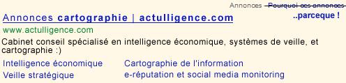 Actulligence, conseil en intelligence économique, cartographie et systèmes de veille